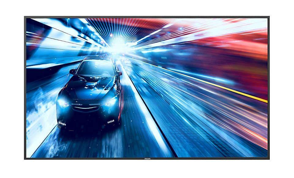 Ecran 65p Direct LED VA UHD 65BDL3010Q00 Philips
