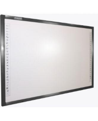 """Tableau blanc interactif électromagnétique 82"""" QWB200EM-DP Qomo"""