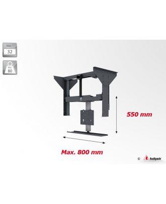 Support plafond vertical motorisé pour écran plat FCL-A Audipack