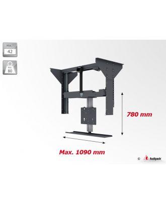 Support plafond vertical motorisé pour écran plat FCL-B Audipack