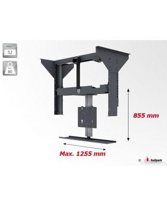 Support plafond vertical motorisé pour écran plat FCL-C Audipack