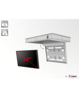 Support de plafond encastré motorisé pour écran plat FFCL-3032 Audipack