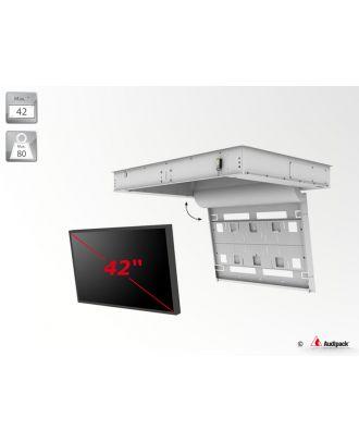 Support de plafond encastré motorisé pour écran plat FFCL-4042 Audipack