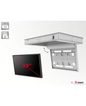 """Support de plafond encastré motorisé pour écran plat FFCL-5255 Audipack - 80Kg max  - Pour écran 55"""" max - Dimensions : W1776xD1258xH200 mm - VESA : 200x200, 400x200, 600x200 et 800x400"""