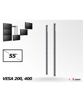 Bras de fixation triple vertical MA-3-46 Audipack