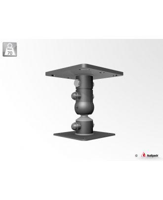 Support de plafond pour projecteur 390065 Audipack