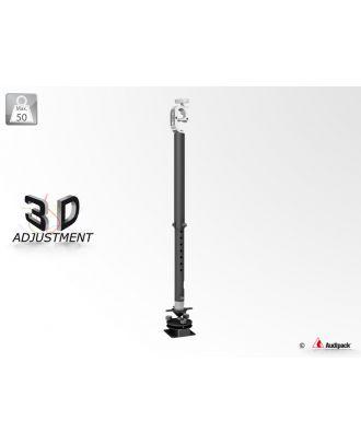Support vidéoprojecteur télescopique PLUS 3D sur poutre 392366 Audipack