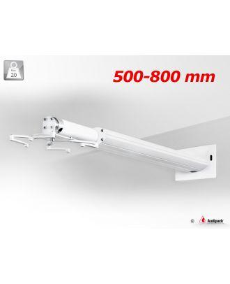 Support mural télescopique pour vidéoprojecteur PWM-ST0800T Audipack