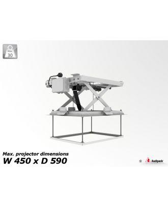 Support de plafond motorisé pour vidéoprojecteur PCL-3050-1 Audipack