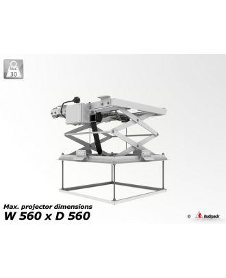 Support de plafond motorisé pour vidéoprojecteur PCL-5050-2 Audipack