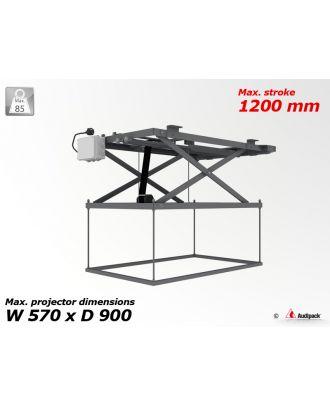 Support de plafond motorisé pour vidéoprojecteur P3610 Audipack