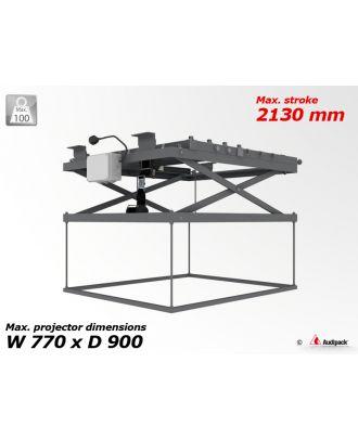 Support de plafond motorisé pour vidéoprojecteur P3613 Audipack