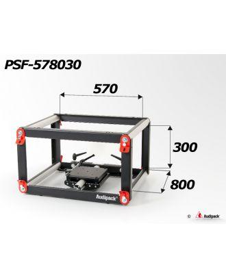 Structure tubulaire en aluminium pour vidéoprojecteur PSF-578030 Audipack