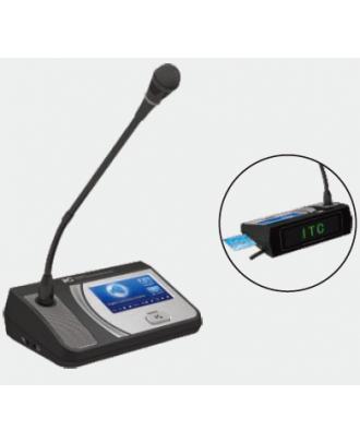Micro Délégué Ecran TFT 4,3p et système de vote itC TS-0203A
