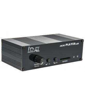 MicroPlayer mkIII + Lecteur MP3 amplifié + casque / SD/USB WS-SON0397 ID-AL