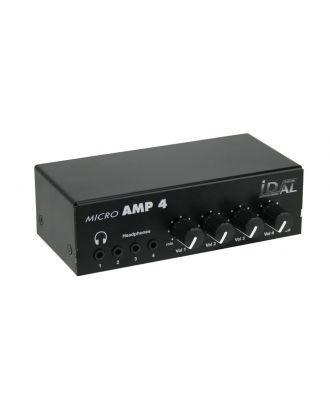 Micro AMP 4/2 Amplificateurs pour casque 4 canaux WS-AMP0325 ID-AL