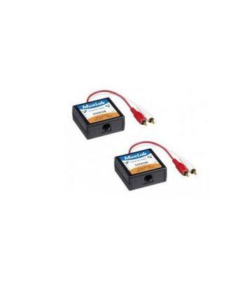 Balun Stéréo HI-FI , 2-PACK 500028-2PK Muxlab