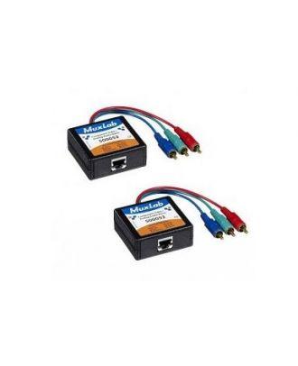 Balun composante Vidéo/Analog Audio , M, 2-PACK 500052-2PK Muxlab