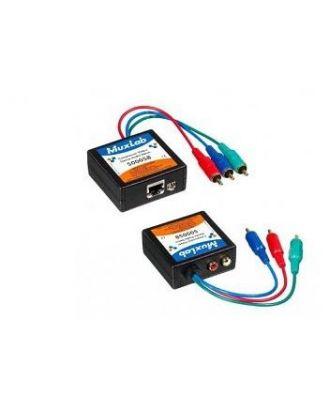 Balun composante Vidéo/Stéréo Audio , M, 2-PACK 500058-2PK Muxlab