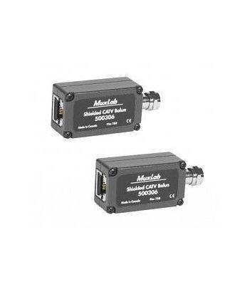 Balun SHIELDED CATV 2-PACK 500306-2PK Muxlab