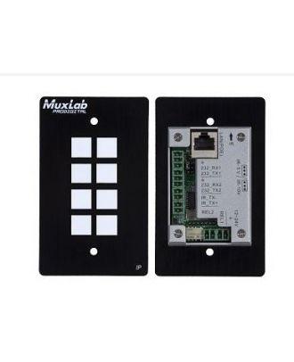 Panneau de contrôle 8 bouttons IP POE 500816-IP Muxlab