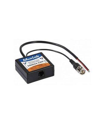 Balun vidéo CCTV et convertisseur alimentation 500024-CNV Muxlab