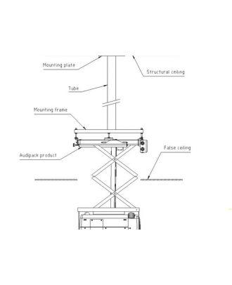 Séparateur pour CTF-800 AUD-CUSTOM Audipack