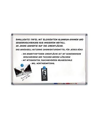 Tableau blanc 200 x 100 cm B-Line KIN-4540000105 Kindermann