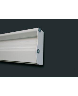 Rail ECO cache latéral gauche blanc KIN-5008450872 Kindermann