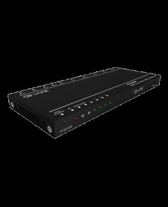 Switcher 4x1 4K60 HDMI 2.0 avec HDCP 2.2 tvONE