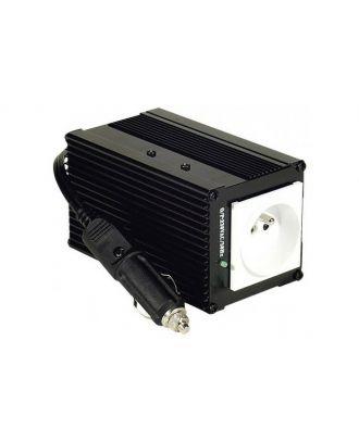 Convertisseur pour voiture : 12 Volts vers 230 Volts 150W