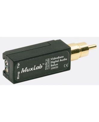 500020 Balun Muxlab Audio numérique