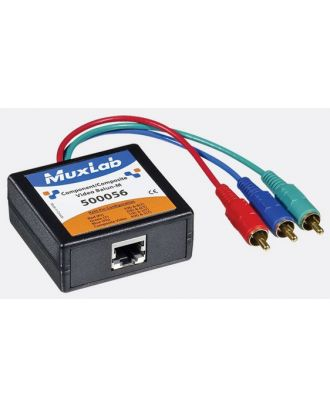500056 Balun Muxlab VideoEase Vidéo Composant/Composite Mâle