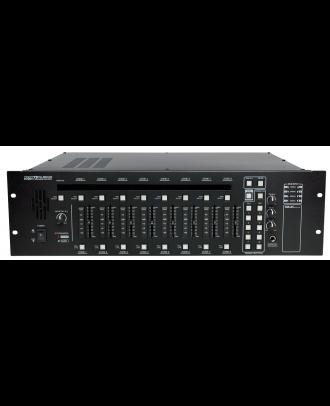 Matrice 8 entrées/4 entrées micros Majorcom PX-8000