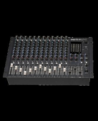Table de mixage 12in mono -4out Majorcom MX-1243