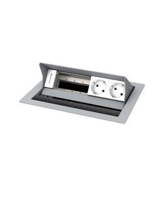 Boîtier de connexion de table CablePort Standard² Kindermann 749200072