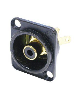 Embase RCA noire format D