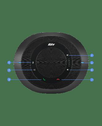 Aver - Micro d'extension avec câble de 5m 60U0100000AC
