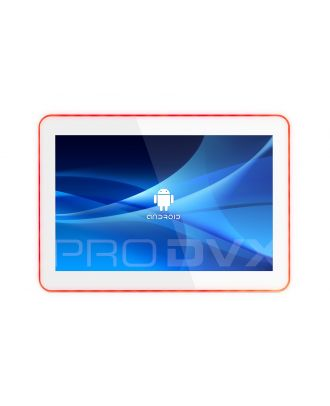 Tablette Android 10,1p cadre Led, Blanc ProDVX APPC-10SLBW