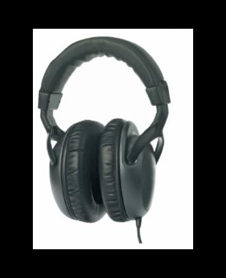 Casque audio stéréo professionnel Rondson fiche jack mâle 3,5 mm