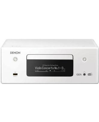 Micro-chaîne CD 2x65W Blanche Denon RCDN-11 DAB