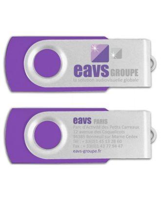 Clef USB 2.0 2Go logotisée EAVS