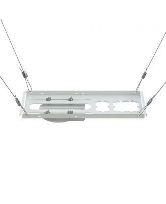 Support universel de caméra sur dalle de plafond Blanc Chief CMS446