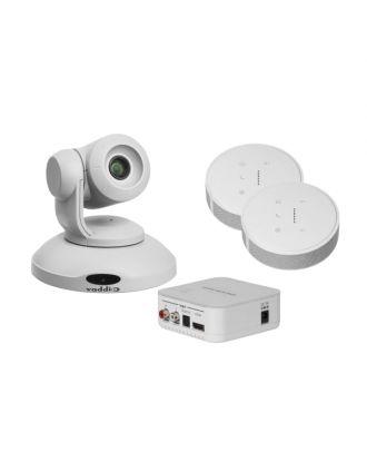 Kit Caméra ConfSHOT AV (x10) + TableMIC 2 (sans HP) - Blanc Vaddio