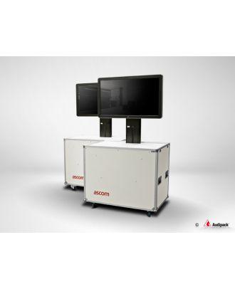 Support flight case motorisé pour écran plat FLM-5055 Audipack