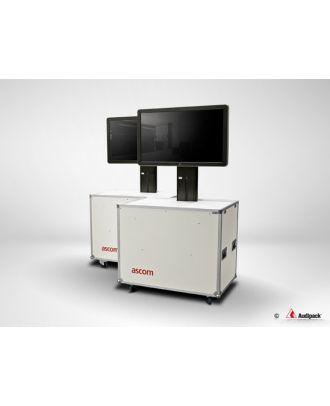 Flightcase avec système motorisé pour écran 60-55'' FLM-6065 Audipack