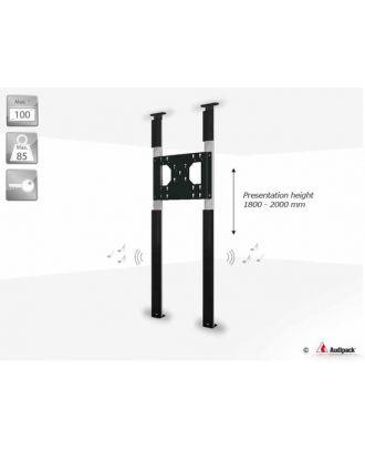 Support Solplafond double colonne système audio CTF-ATLAS-XL Audipack