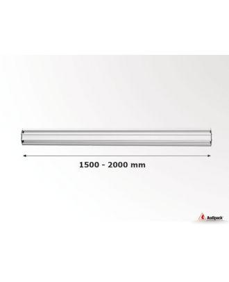 Barre de montage horizontal pour mur d'images FLEX-1800-XXXX Audipack