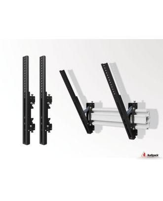 Support inclinable adapté FLEX-800 Vesa 200-500 391820 Audipack