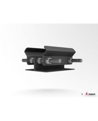 Support serre-poutre pour tube 392150 Audipack
